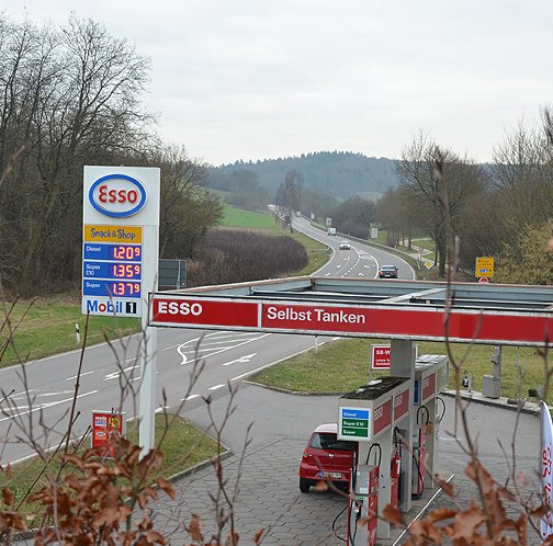 Esso-Station W. Kiefer in Waibstadt